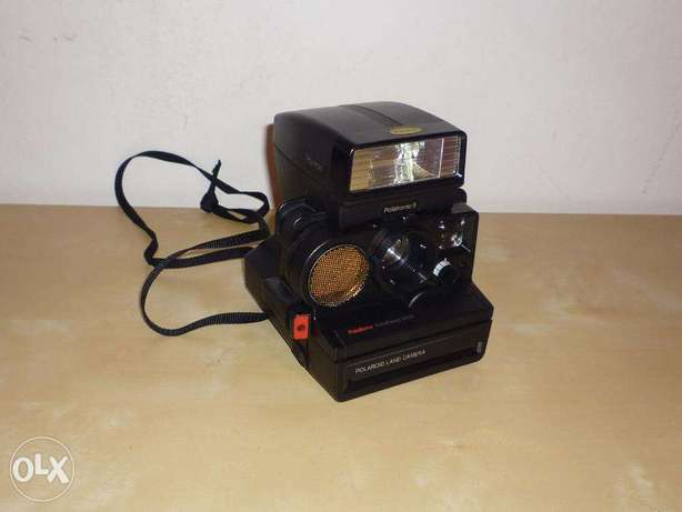 Polaroid Land Camera PolaSonic 5000 SE + Polatronic 5 Light 2390