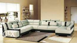 American U shaped corner sofa