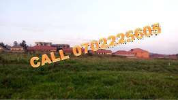Master piece 100 by 100 ft plot for sale in Namugongo at 60m
