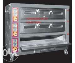 Deck oven 3 deck 9 Tray 100 loaves hour R30.000