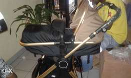3 in 1 baby stroller and carry cot