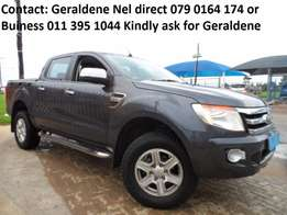 2013 Ford Ranger T5 3.2 TDCI A/T XLT Double Cab Great Family Vehicle