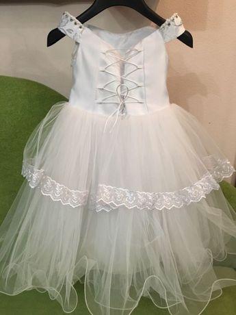 2e0839693f168c1 Очень красивое нарядное платье на девочку 4-5 лет: 400 грн. - Одежда ...