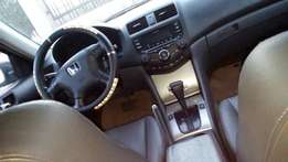 Durable Honda accord 2005 model with confirmed duty.