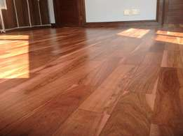 Installation, Sanding & Sealing of Wooden Floors