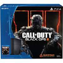 Playstation 4 plus call of duty black ops III cd