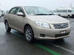 Toyota axio just arrived on sale.