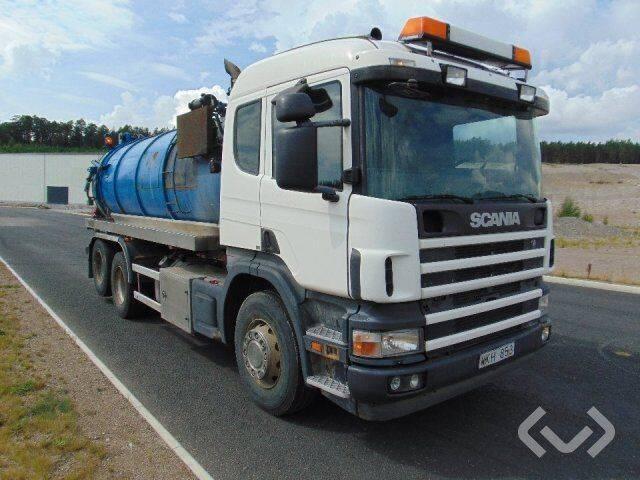 Scania P124GB NZ420 6x2 Slam vacuum truck - 05 - 2019