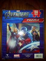 "Brand New ""Avengers"" 100 Pieces Puzzle"