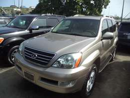 Newly arrived gold color 2006 GX470 for sale