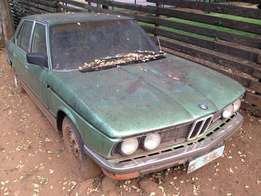Make An Offer BMW 528i old school!!!