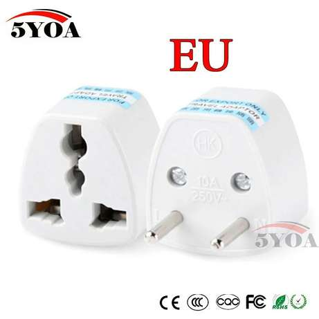 Converter Adapter 3 pin to 2 pin Ilorin West - image 1