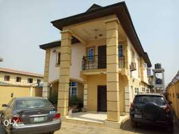 5bedroom DUPLEX at isolo road isheri Osun Lagos with C of O