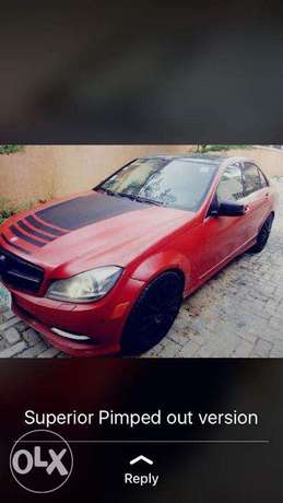 2010 C300 (Customized & Pimped Out) Lagos - image 7