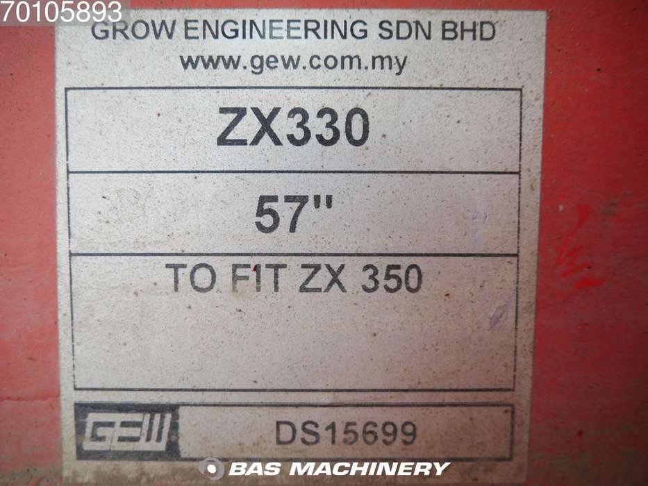 ZX350 New unused Hitachi ZX350 bucket - 2019 - image 5
