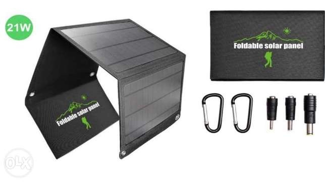 Solar Charger Portable panel Fast Charging