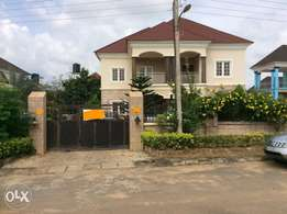 5 bedroom duplex with 1 bedroom BQ and 2 self contain BQ