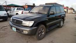 Smooth Driving Nig Used 2002 Toyota Land Cruiser V8 In Superb Conditio