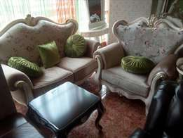 Fabric Royal Sofa chairs by 7seaters