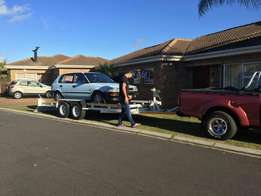Local and long distance towing service