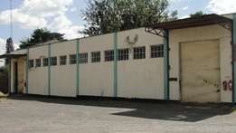 Go-downs with offices - Nakuru Industrial area
