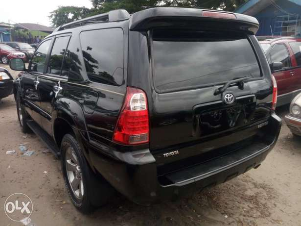 2008 Toyota 4runner black. Limited edition. Direct tokunbo Apapa - image 8