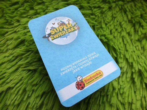 Karty Moja Biedronka Super Zwierzaki 107 Kart Stan Idealny Zary