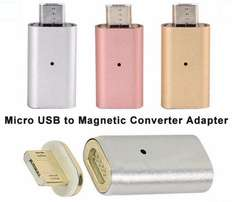 Micro USB Magnetic Adapter Charger Cable Metal Plug For Android