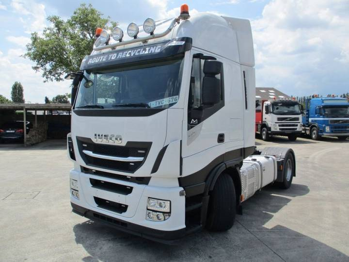 Iveco 510 Stralis Automatic + Intarder + hydraulic - 2017