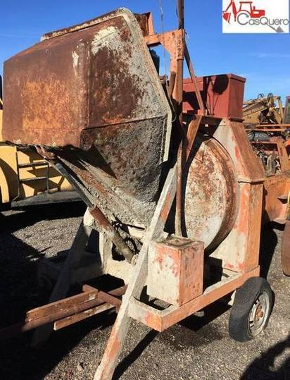 HORMIGONERA concrete mixer