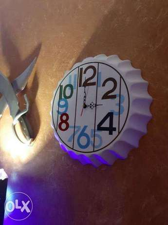 Wall clocks bottle cap