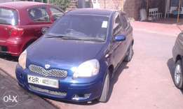 Accident-free Toyota Vitz, Year 2005, 1000cc 186,000 km