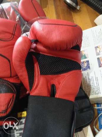 DOMYOS by Decathlon FKT 180 Boxing Gloves (Red