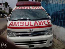 Hiace 9L Highroof Ambulance fully equipped
