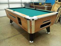 2 x coin operated pool table for sale R2,500 for both tables