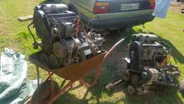 Vw engin and gearbox