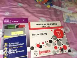grade 11 study guides and textbooks