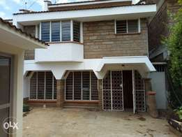 A 4 bedroom maisonette with a servant quarter for letting.