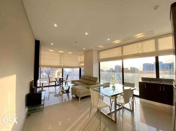 On high floor sea view 1bhk apartment for rent/pool/wifi/gym/inclusive