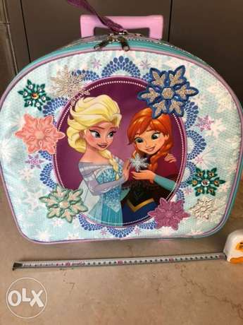 Disney Frozen Elsa & Anna Rolling Luggage Carry-On Suitcase