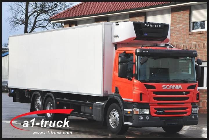 Scania P280 6X2, EEV, LBW, Carrier Supra 950MT, Scheckheft - 2012