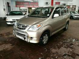 2007 Toyota Avanza 1.5 SX, Only 179000km, Full Service History, A/C