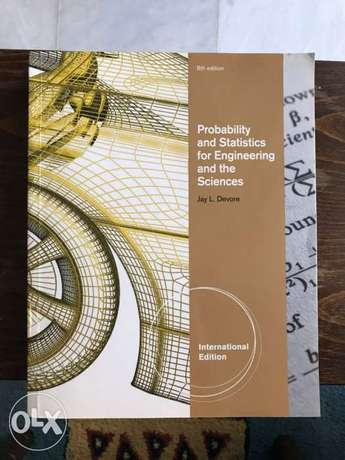 Probability and Statistics for Engineering and the Science
