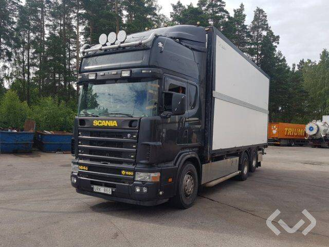 Scania R164GB NB580 6x2 Box (side doors) - 04 - 2019