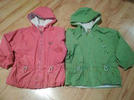 2b4255a8d9056d Przejściowa kurtka, kurtki dla bliźniaczek r. 104