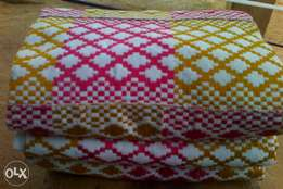 Odo Chain Kente Cloth (White, Hot Pink and Gold)