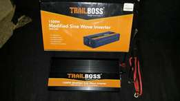 Trailboss power inverter 1500 w for sale