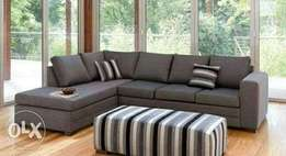 Dark grey sofa on offer free delivery