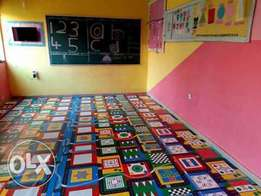 Character rugs for babies and schools