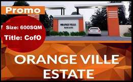 Take Advantage Of Our Promo And Invest In ORANGE VILLE ESTATE, Ajah
